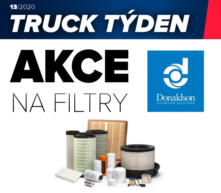 ELIT: Akce na filtry Donaldson