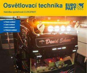 Katalog firmy Europart: Osvětlovací technika 2020