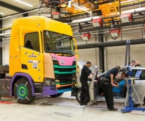 Společnost Scania se zaměřuje na bezpečnost