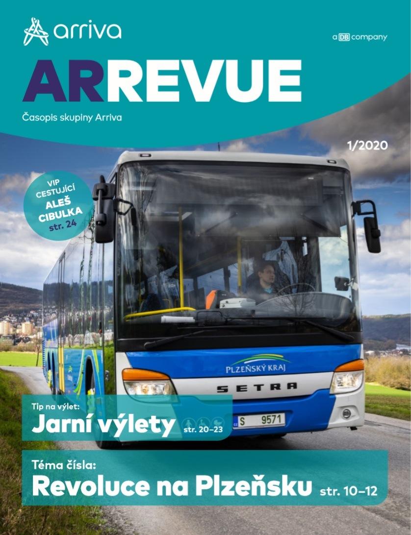 Nové číslo časopisu ArRevue společnosti Arriva
