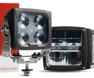 Hlavní a pracovní světlomety odolné proti vibracím a zimě v nabídce Herth+Buss
