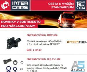 Rozšíření sortimentu Inter Cars v oblasti truck, bus, agro