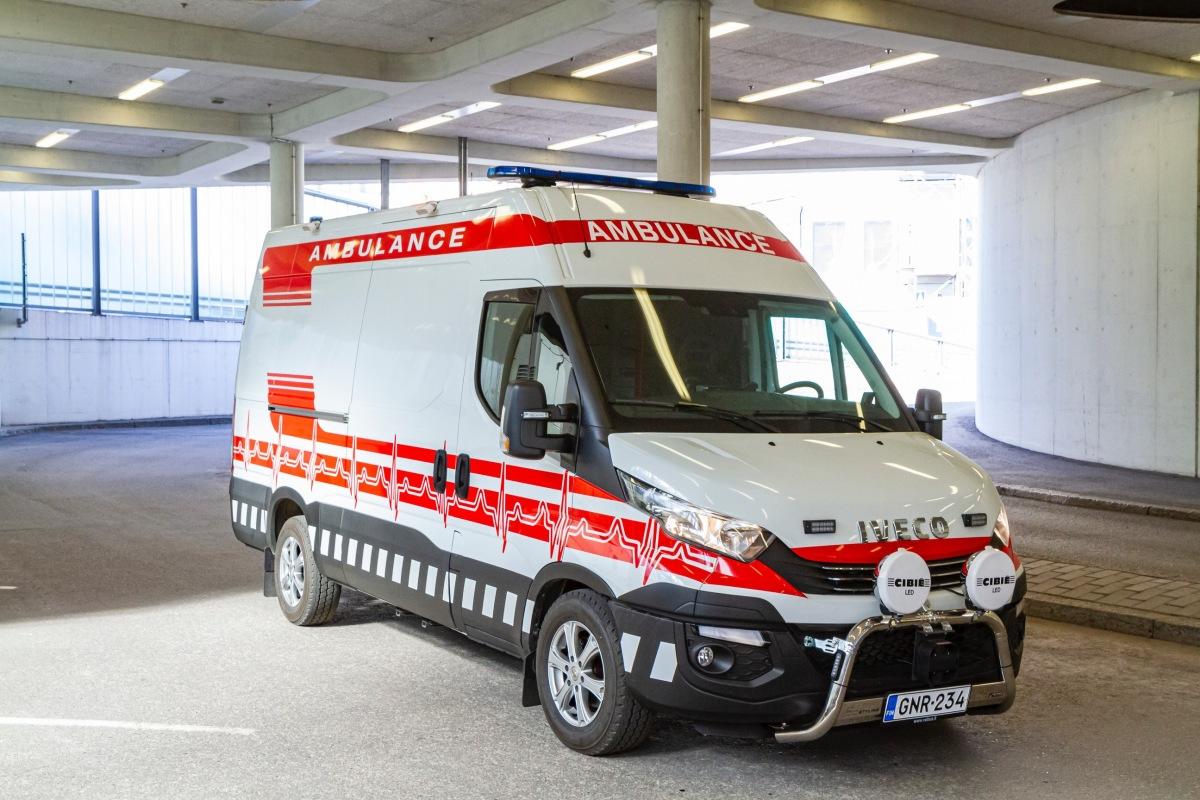 Iveco ambulance