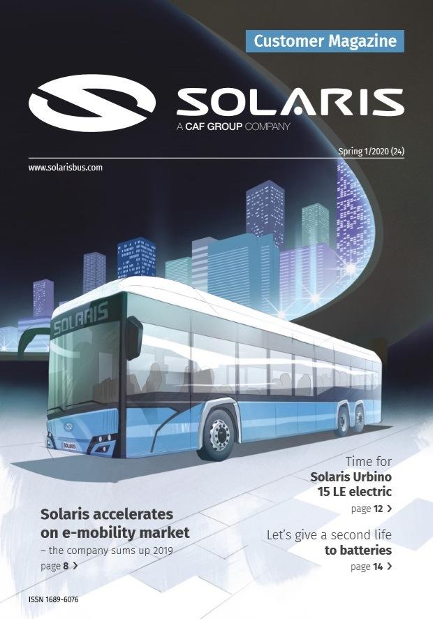 Nové číslo časopisu Solaris Customer Magazine