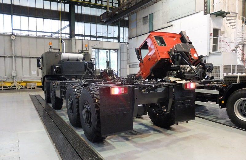 Společnost Tatra Trucks  vyrábí