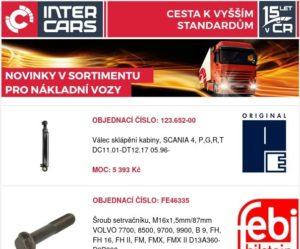 Inter Cars představuje novinky pro užitkové vozy