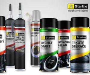 ELIT představuje novinky v řadě autochemie a kosmetiky Starline