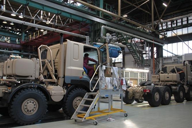 Tatra Trucks výroba