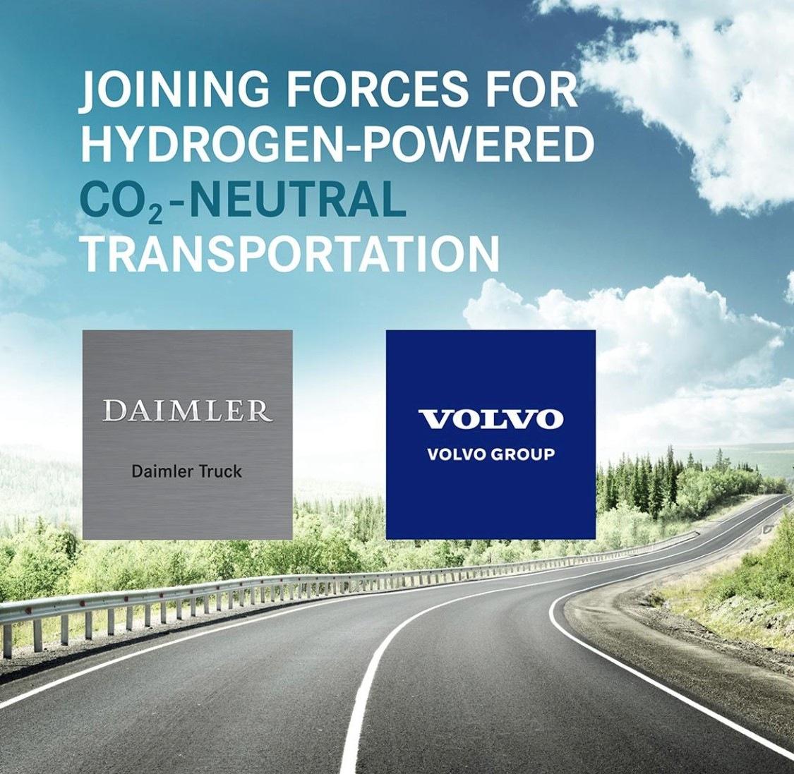 Spolupráce Daimler a Volvo