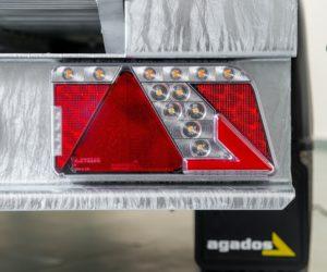 Přívěsy Agados nově s LED světly