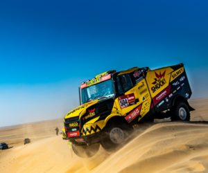Macík projede Dakar v Karlovi s automatem