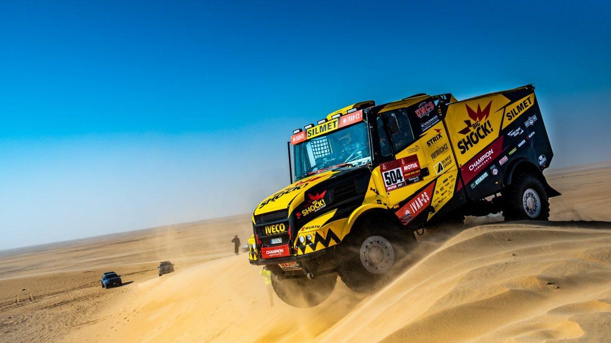 Big Shock Racing tým na Dakaru