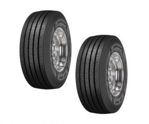 Nové návěsové pneumatiky Dunlop SP247 na celoroční provoz s nízkými kilometrovými provozními náklady