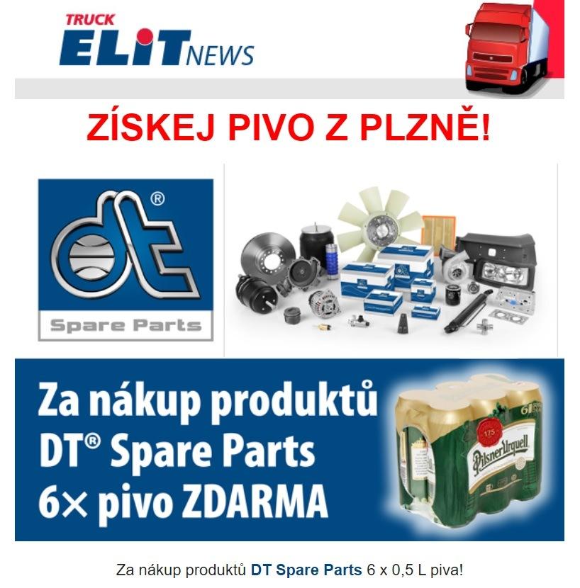 ELIT: Za nákup produktů DT Spare Parts pivo zdarma