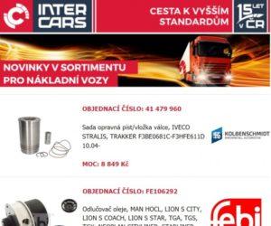 Rozšíření nabídky truck, bus a agro u Inter Cars