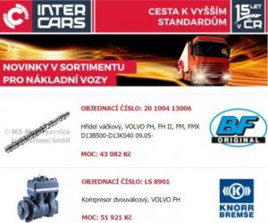 Novinky v sortimentu Inter Cars