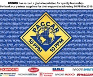 PACCAR udělil ocenění za kvalitu firmě Dayco