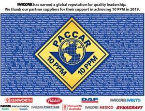 PACCAR ocenění firmě Dayco