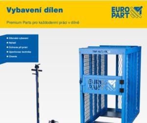 Katalog firmy Europart: Vybavení dílen
