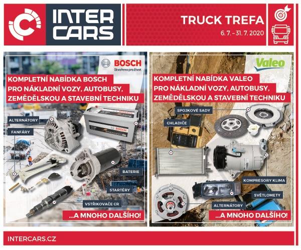 Červencová Truck Trefa s produkty Valeo a Bosch