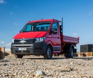 MAN rozšiřuje svoji nabídku dodávkových vozidel TGE s pohonem kol obou náprav i na modely s celkovou hmotností do 5,5 t