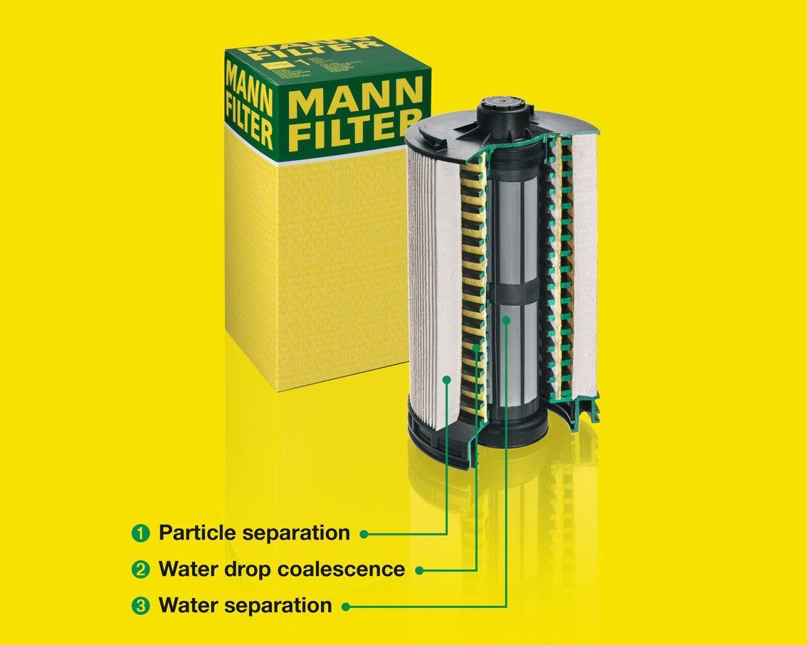 Palivový filtr MANN-FILTER PU 12 004 z