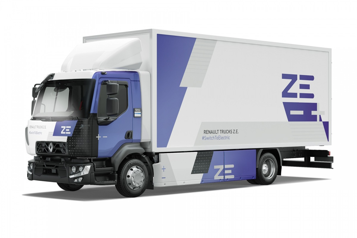Spolupráce Delanchy s Renault Trucks