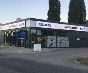 Skupina LKQ CZ (Auto Kelly + ELIT) představuje novou pobočku v Jičíně