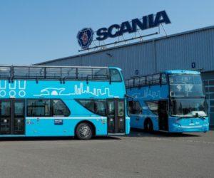 Scania připravuje první patrové autobusy v Paskově