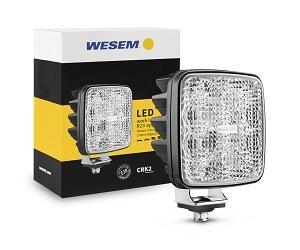 Pracovní lampy firmy WESEM nyní také ve verzi s homologací pro couvání