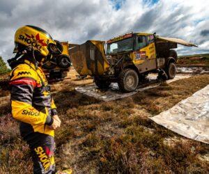 Tři kamiony od Macíků v Baja Poland