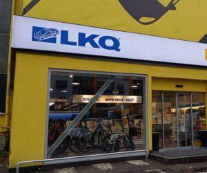 Oveření nové pobočky skupiny LKQ (Auto Kelly + ELIT) v Praze 9