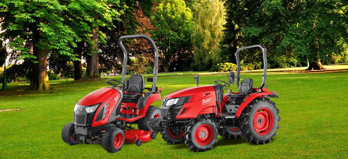 Nové traktory Zetor