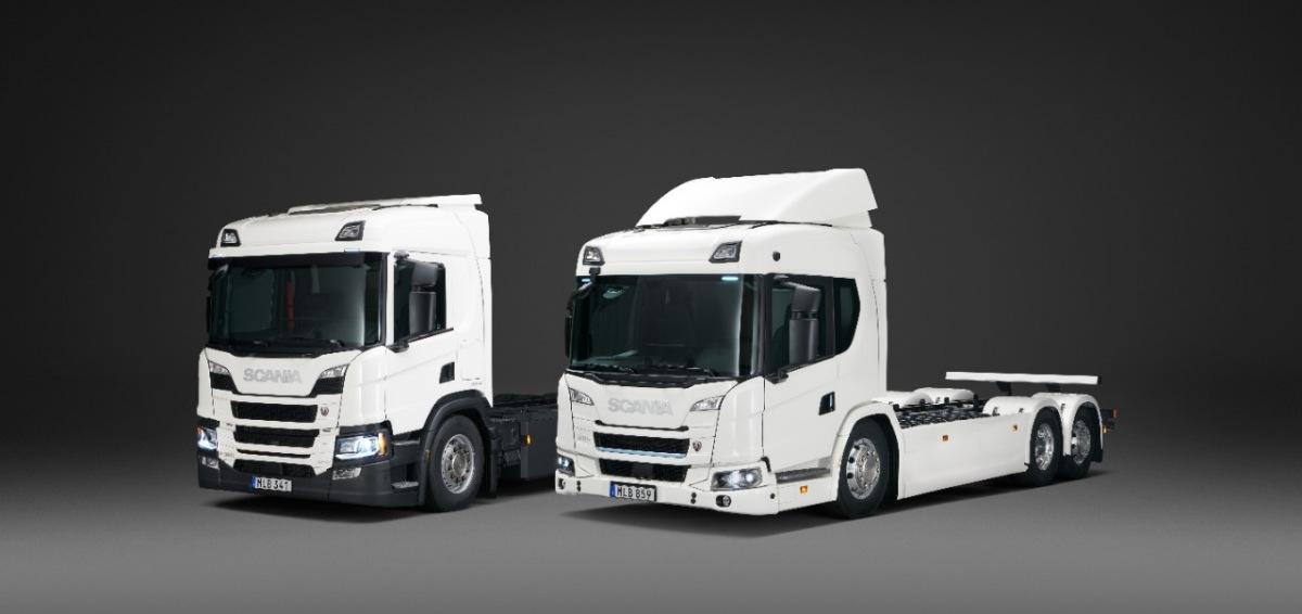 Elektrická nákladní vozidla Scania