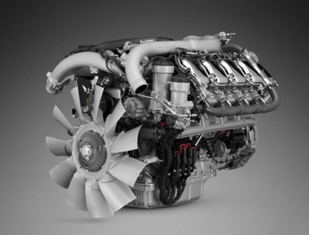 Scania motor V8