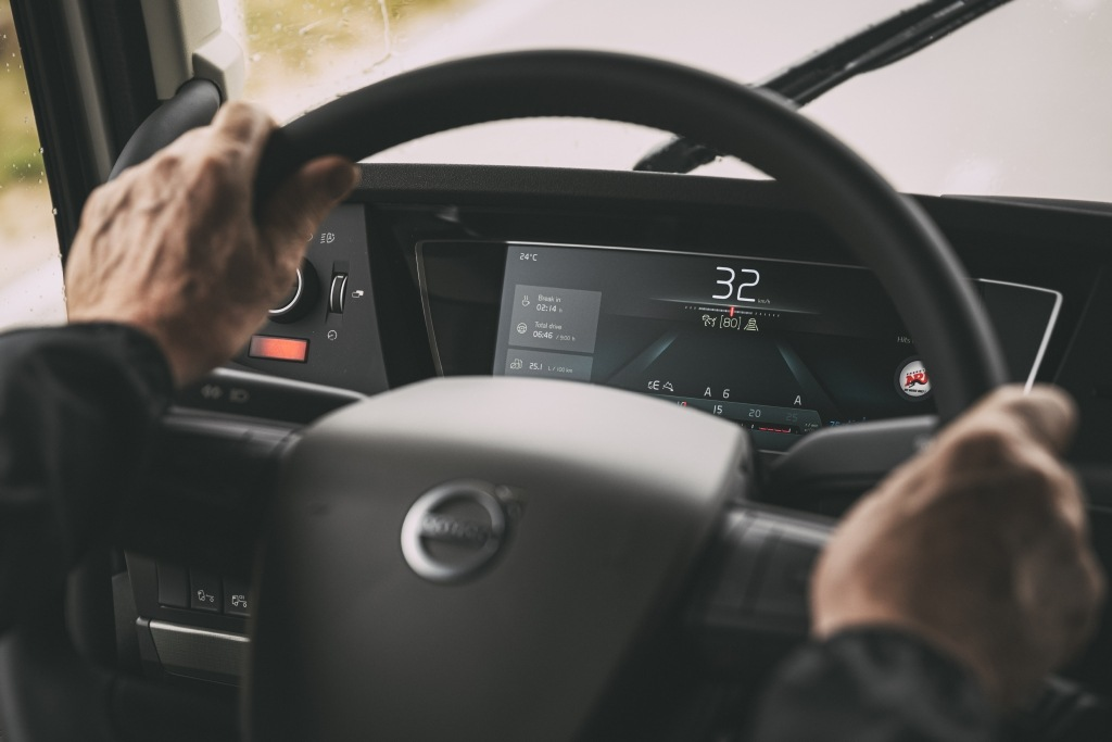 Volant u Volvo