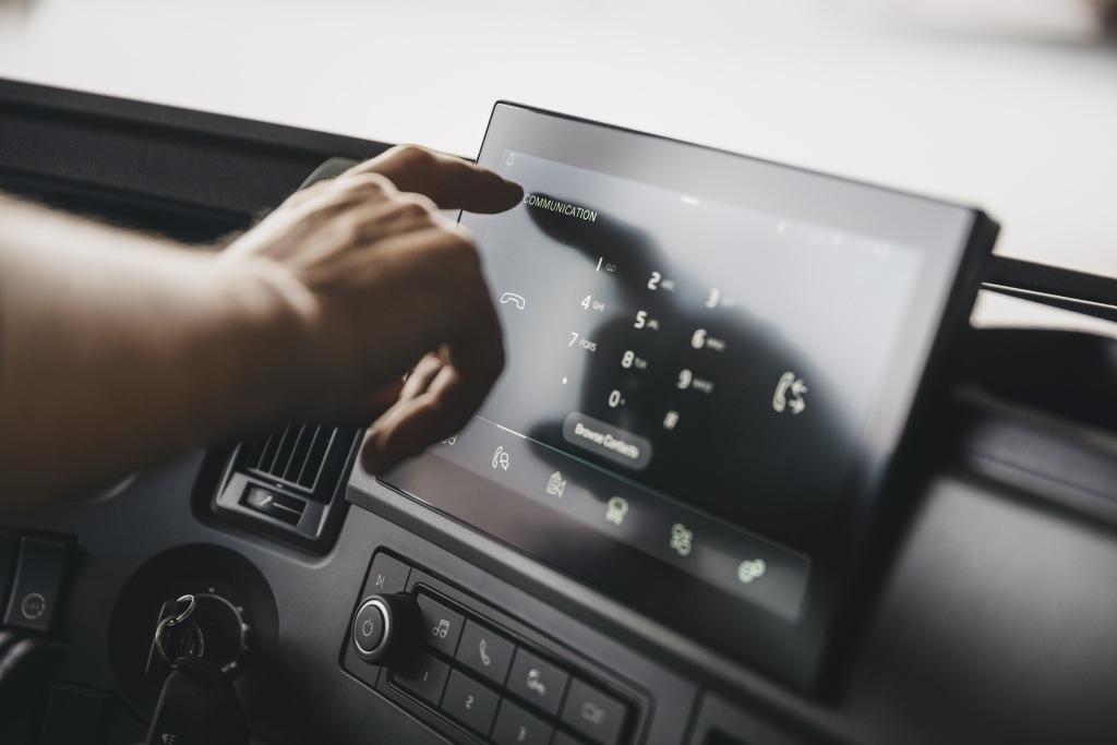 Digitální přístrojový displej u Volvo