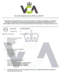 certifikát R90 Meritor