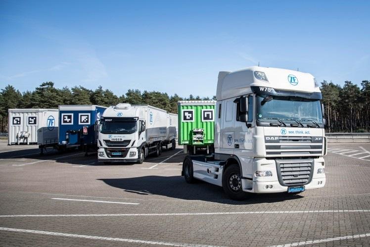 ZF inteligentní řešení pro nákladní vozy