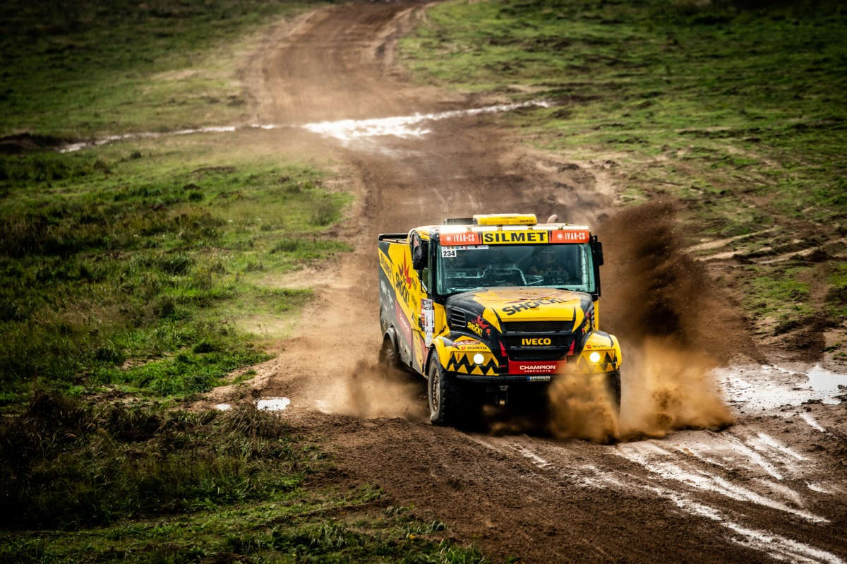 Big Shock! Racing na rally Baja