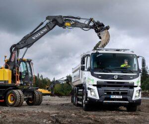 Volvo Trucks zahajuje zákaznické testy plně elektrických nákladních vozidel pro stavebnictví