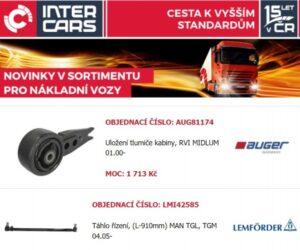 Inter Cars: Novinky prvního říjnového týdne