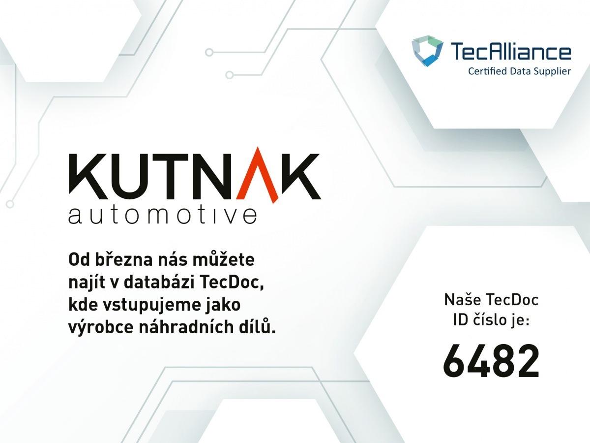 KUTNAK AUTOMOTIVE ve světové databázi TecDoc