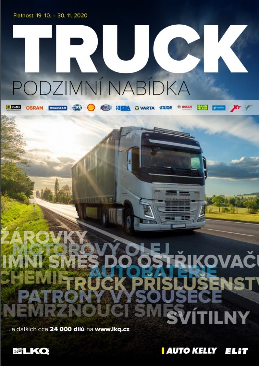 Truck akční nabídka dílů skupiny LKQ CZ