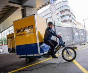 Dachser bude zavážet Prahu nákladními elektrokoly