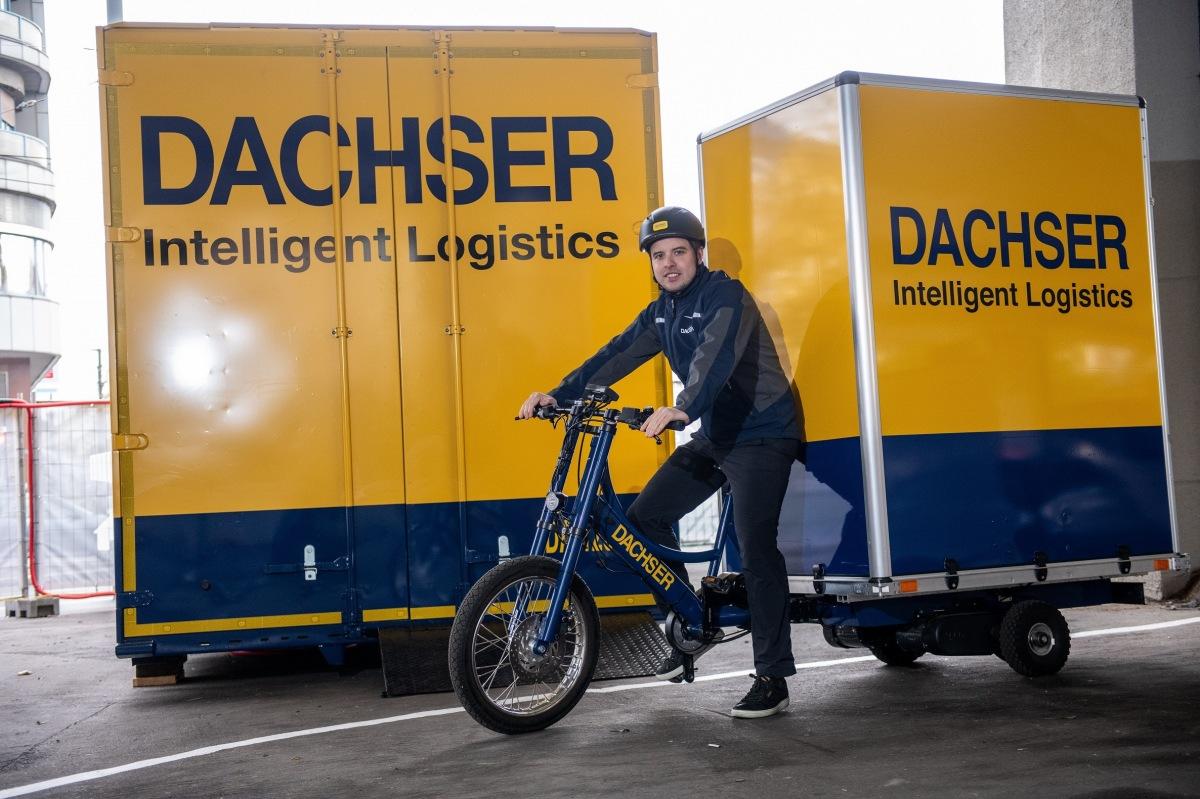 Dachser nákladní elektrokola