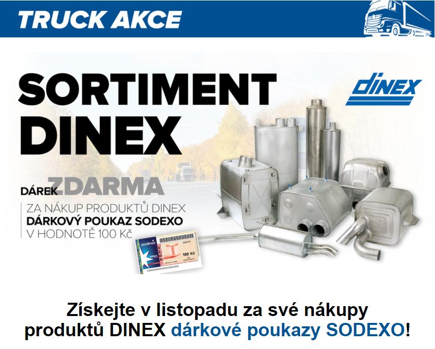 Skupina LKQ CZ (Auto Kelly + ELIT): Akce s produkty Dinex