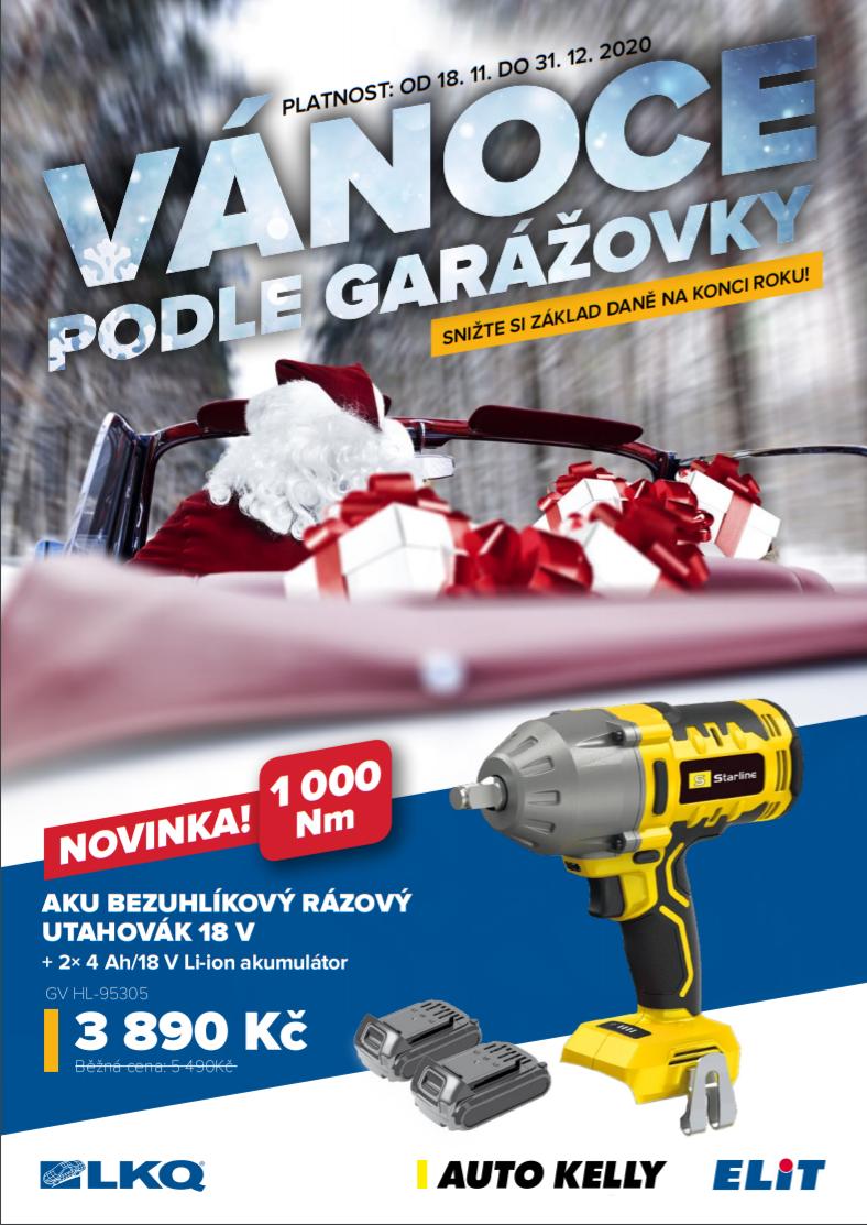 Akční ceny na garážové vybavení u LKQ CZ