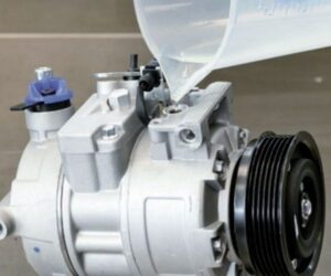 Správné naplnění kompresoru klimatizace olejem