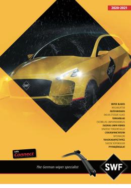 Katalog stěračů - osobní vozy